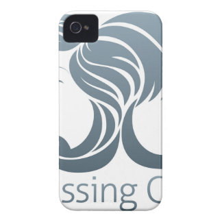 Man and Woman Hair Concept iPhone 4 Cases