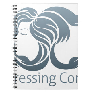 Man and Woman Hair Concept Note Book