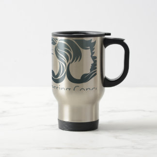 Man and Woman Hair Concept Stainless Steel Travel Mug
