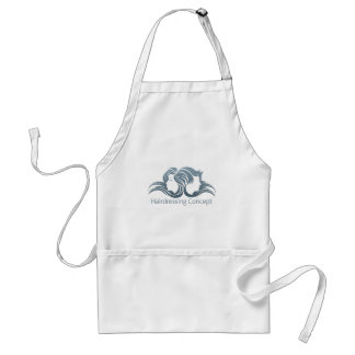 Man and Woman Hair Concept Standard Apron