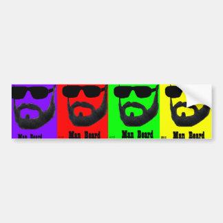 Man Bread Bumper Sticker by: da'vy
