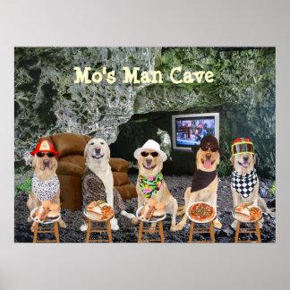 Man Cave Art Poster
