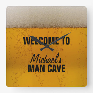 Man Cave - Beer Clocks