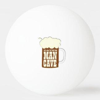Man Cave Beer Mug Ping Pong Ball