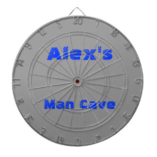 MAN CAVE DARTBOARD CUSTOMIZE WITH YOUR OWN NAME