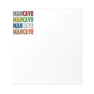 Man Cave Notepad