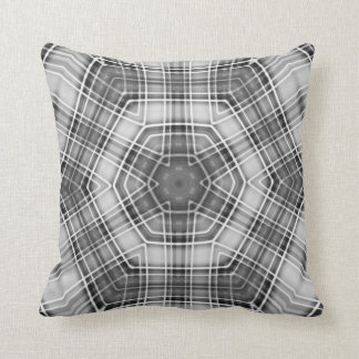 Man Cave Plaid Cushion