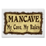 Man Cave Posters