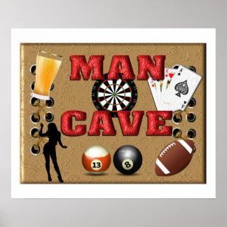MAN CAVE PRINT