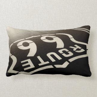 Man Cave Route 66 Lumbar Cushion