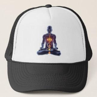 man chakras trucker hat