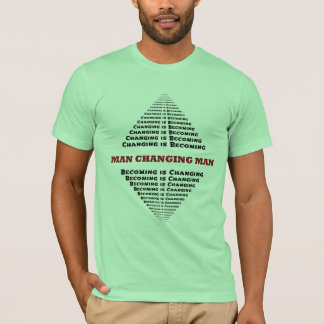 Man Changing Man, Changing is becoming... T-Shirt