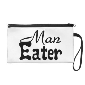 Man Eater Wristlet Clutch