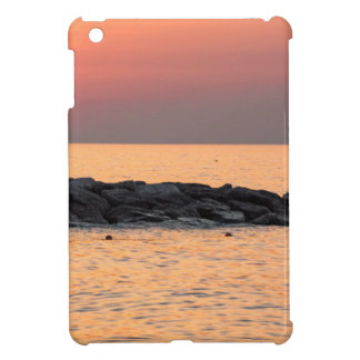 Man fishing at sunset case for the iPad mini