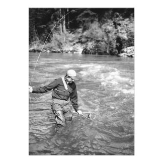 Man Fishing Invitations