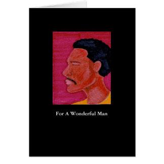 Man Greeting Card
