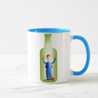 Man in a Bottle Mug