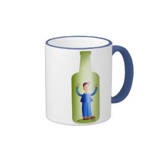 Man in a Bottle Mug