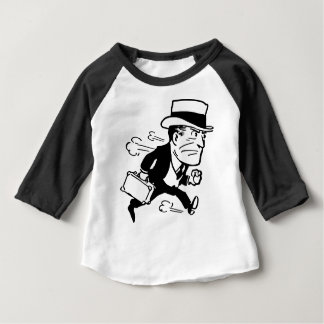 Man in a Hurry Baby T-Shirt