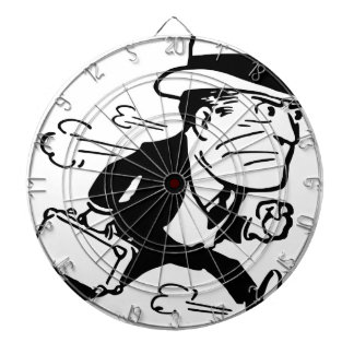 Man in a Hurry Dartboard