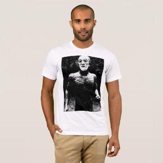 Man in a Mask Sculpture tshirt for men