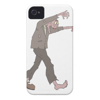 Man In A Suit Creepy Zombie With Rotting Flesh Out iPhone 4 Cover