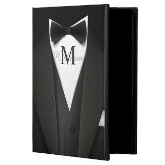 Man in Black Tuxedo Suit - Stylish Manly Monogram Powis iPad Air 2 Case