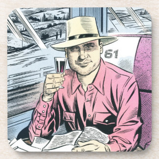 Man in Seat 61 coaster set