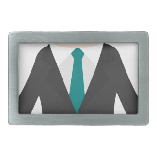 Man in Suit Belt Buckles