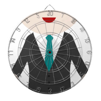 Man in Suit Dartboard