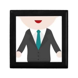 Man in Suit Gift Box