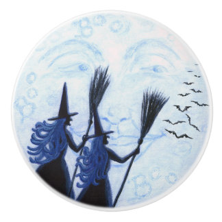 Man in the moon and witches knobs