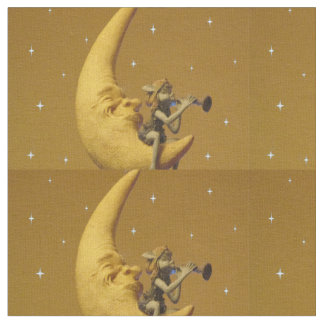Man in the Moon & Pal Fabric
