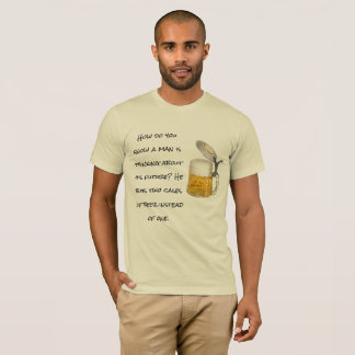 Man is thinking about his future,bTman T-Shirt