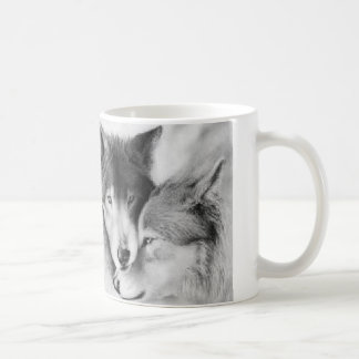 man made dogs god made wolves coffee mugs