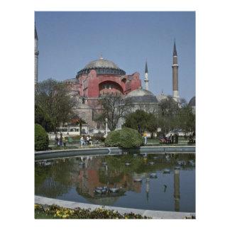Man-Made Pond In Turkey Flyer Design
