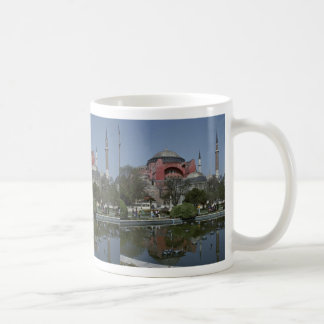 Man-Made Pond In Turkey Coffee Mugs