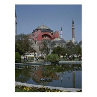 Man-Made Pond In Turkey Postcards