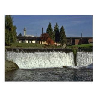 Man-Made Waterfall Post Card
