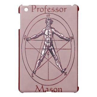 Man Magical Pentagram Symbol Custom iPad Speck Cas iPad Mini Covers