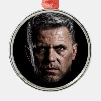 man metal ornament
