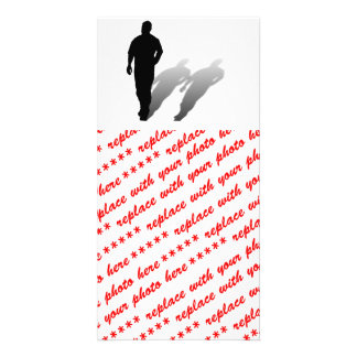Man Missing Man Photo Card Template