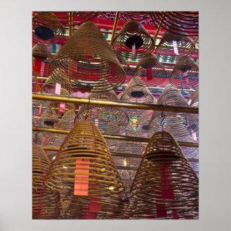 Man Mo Buddhist Temple of Hong Kong Posters