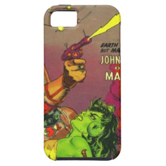 Man O' Mars iPhone 5 Cases