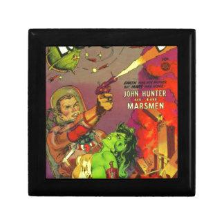 Man O' Mars Small Square Gift Box