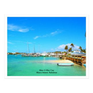 Man-O-War Cay Postcard