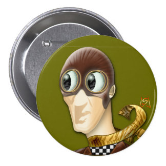 Man Of Action (pin) 7.5 Cm Round Badge