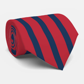 Man of Excellence Red and Blue Tie