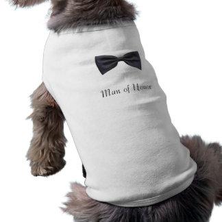Man of Honor Sleeveless Dog Shirt