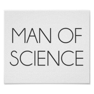 Man Of Science Poster